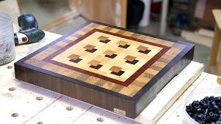 Making a custom 3D end grain cutting board 7