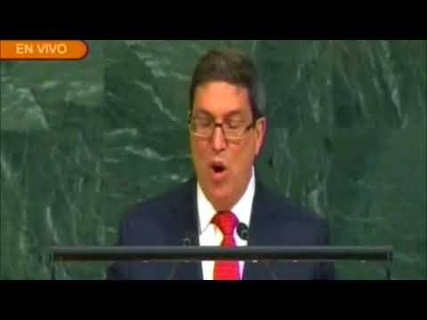 Discurso de canciller cubano en la ONU