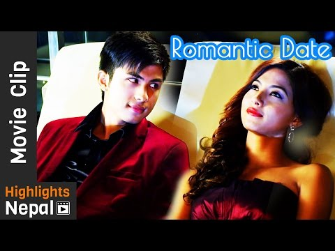 Romantic Date Night | DREAMS Nepali Movie Clip | Anmol K.C, Samragyee Rajya Laxmi Shah
