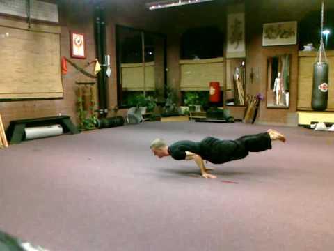 Martial Arts - Chinese Yoga or Yi- Jin Jing External Qi Gong