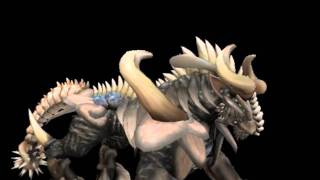 Spore - Baranock bull monster