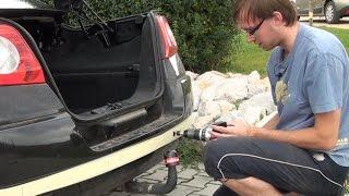Montáž parkovacích senzorů