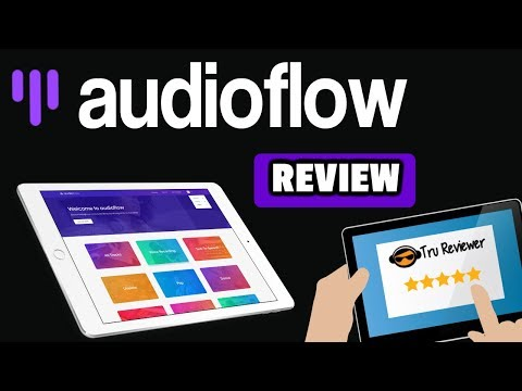 AudioFlow Review - Cloud Based Video Audio Resources with Text to Speech too!