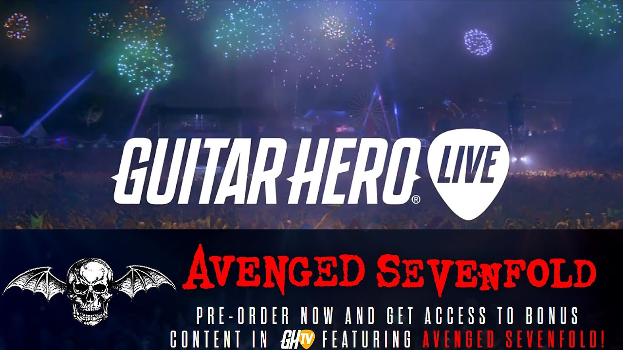 guitar hero live avenged sevenfold premium show tracklist setlist songlist reveal youtube. Black Bedroom Furniture Sets. Home Design Ideas