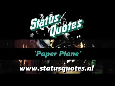 STATUS QUOTES - Paper plane ( Quo tribute live 2018)