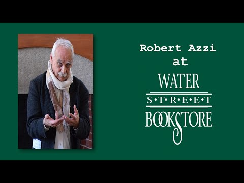 Robert Azzi at Water Street Bookstore