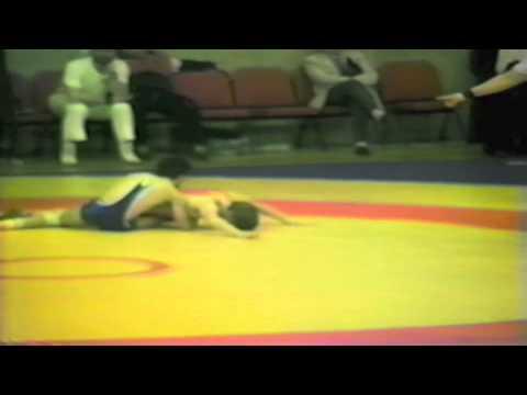 1988 Senior European Championships: 52 kg Piotr Mrochena (POL) vs. Saban Trstena (YUG)
