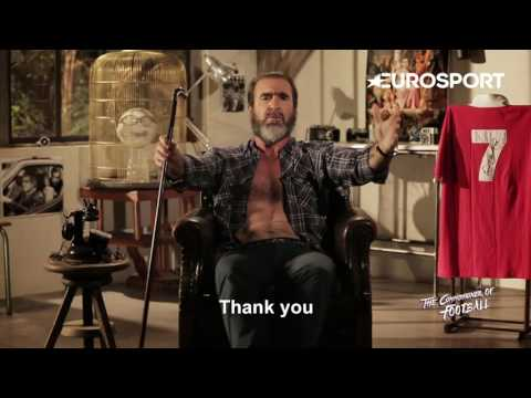 Exclusive -  Eric Cantona's message to Zlatan Ibrahimovic