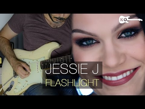 Jessie J - Flashlight - Electric Guitar Cover by Kfir Ochaion