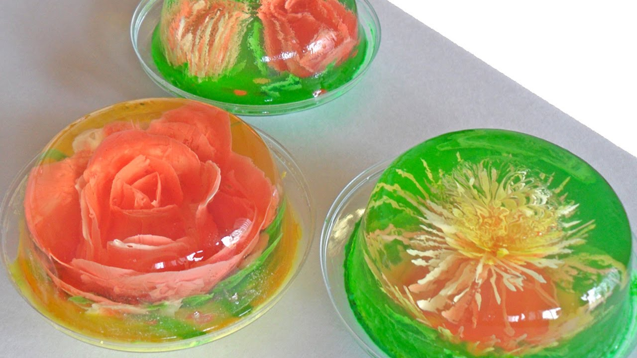 Resultado de imagen para decoracion con gelatina