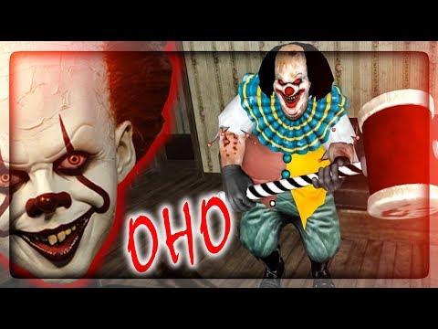 УЖАСНЫЙ КЛОУН Pennywise из ОНО! (1 ГЛАВА) ✅ It Horror Clown Pennywise Прохождение #1