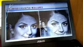 Лазерная гравировка на стекле. Как это происходит. Однобитовый формат(Лазерная гравировка на стекле. Подготовка, CorelDraw Photoshop Photograv., 2016-06-23T07:20:36.000Z)