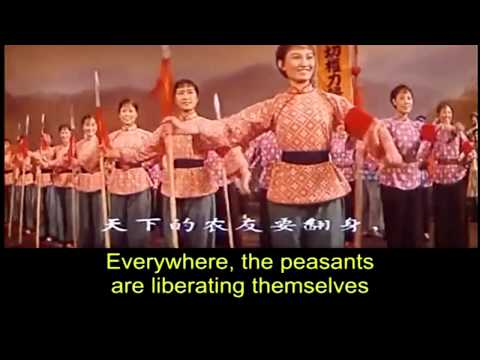 The East is Red 东方红 1965 Eng Subs
