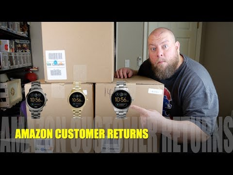 I Paid $243 for a $2037 Amazon Customer Returns Health & Electronics Pallet + Android SMART WATCH