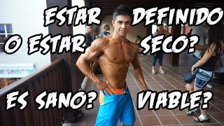 ESTAR DEFINIDO VS ESTAR SECO ¿ES SANO, ES VIABLE?