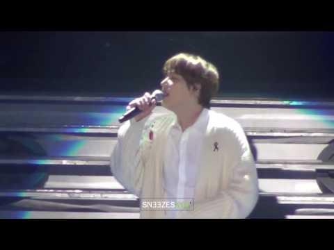 [Sneezes'] 170319 Kyuhyun Thai Medley (เล่าสู่กันฟัง, ทุกอย่าง) - Bangkok Concert
