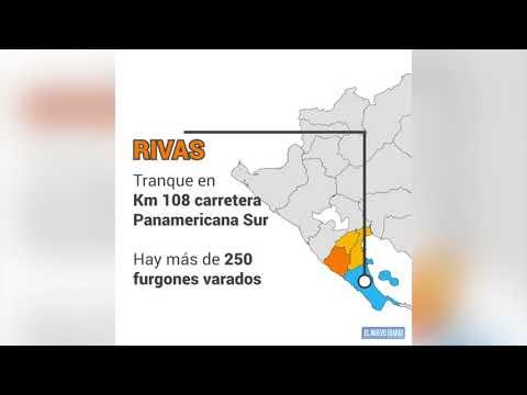 Activan más tranques en Nicaragua