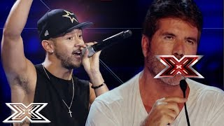 Download SHOCKINGLY OFFENSIVE AUDITIONS Have Simon Cowell In A Rage!   ANGRY JUDGES   X Factor Global Mp3 and Videos