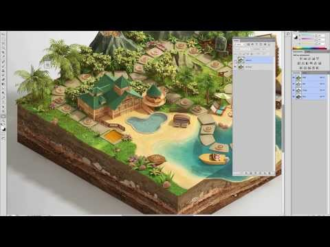 "The making of ""Disney Vacation Club"" digital board game, Piotr Kolus, Lead 3D artist at Ars Thanea"