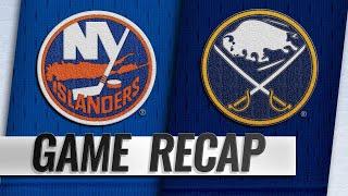 Lehner makes 39 saves, Islanders top Sabres