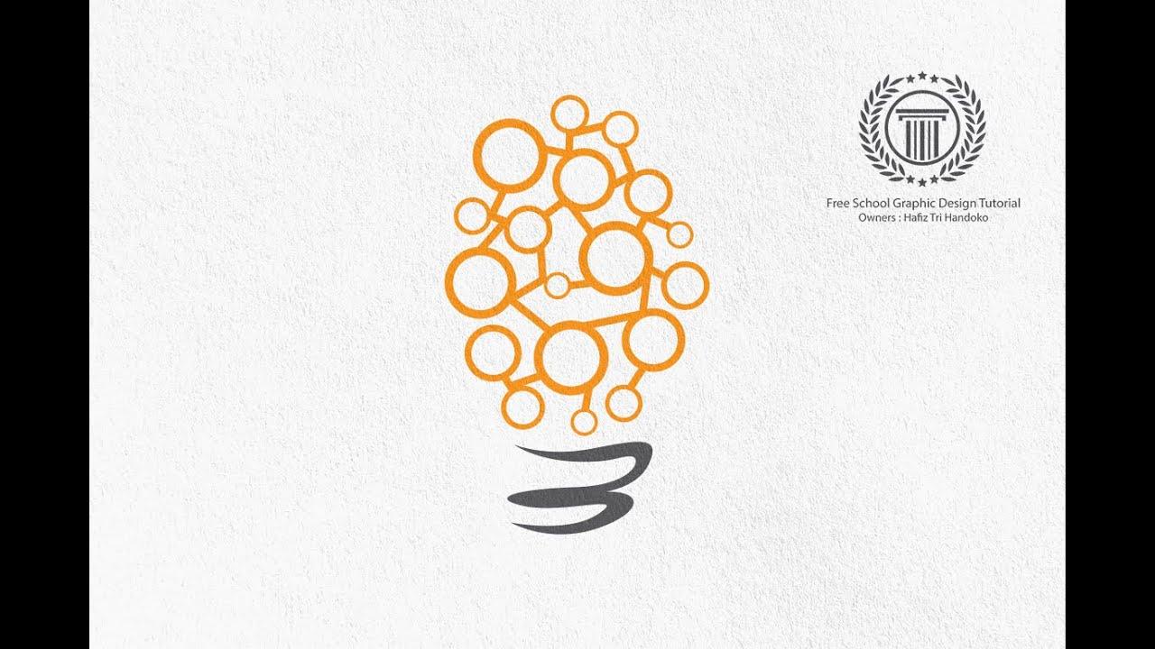 How To Make A Bulb Logo Design
