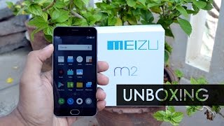 Meizu m2 Unboxing and Overview | India Retail Unit