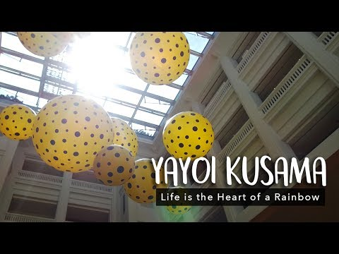 YAYOI KUSAMA: Life is the Heart of a Rainbow at the National Gallery Singapore