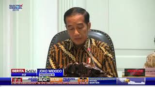Jokowi Pimpin Ratas Bahas Pemindahan Ibu Kota Negara