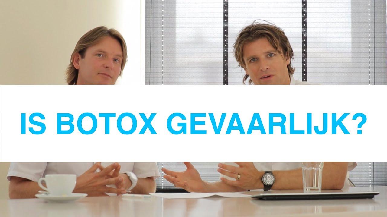 botuline toxine gevaarlijk