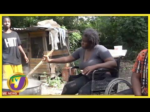 Single Mother Standing Tall Despite her Disabilities   TVJ News - Oct 4 2021