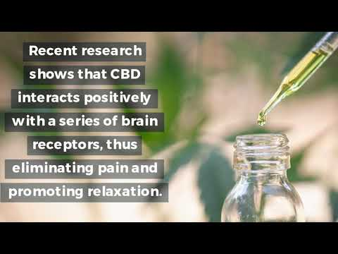 Get The Best Natural Pain Killer & Anxiety Relief Treatment With CBD Oil