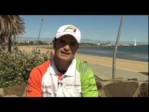 Australian GP 2010 - Interview with Vitantonio Liuzzi