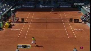HD Federer vs Nadal Madrid 2009