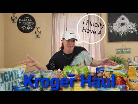 Kroger Grocery Haul – Buying Mega Sale Items  – Weekly Kroger Digital Coupons & More