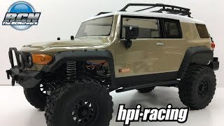 HPI Venture FJ Cruiser - Unboxing and Detailed Look!