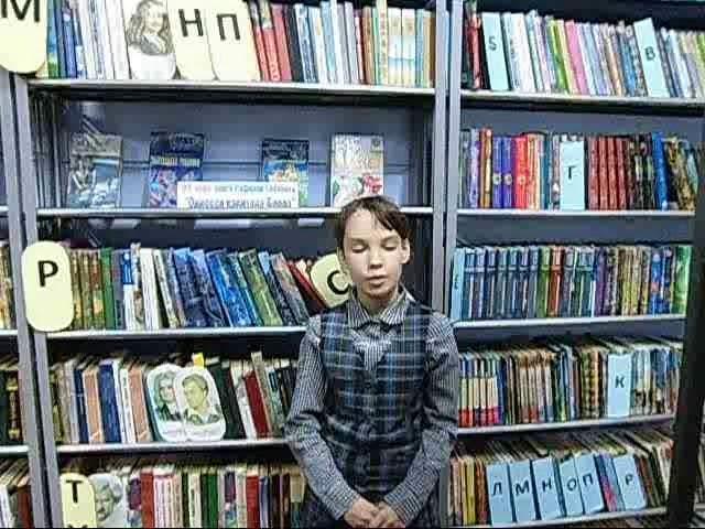 Изображение предпросмотра прочтения – ВикторияШпигальских читает отрывок изпроизведения «Саша» Н.А.Некрасова