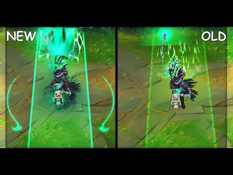 Thresh VFX Update All Skins NEW and OLD (League of Legends)