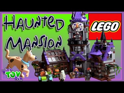 Lego Scooby Doo Haunted Mansion!!! | The Largest Scooby Doo Set!! by Bins Toy Bin