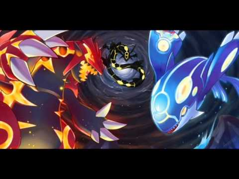 Pok mon omega ruby alpha sapphire primal kyogre groudon rayquaza battle youtube - Pictures of groudon and kyogre ...