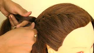 AWESOME HAIRSTYLE FOR COLLEGE/SCHOOL GIRL || COLLEGE GIRL HAIRSTYLE