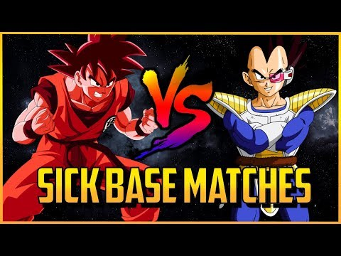 dbfz-▰-high-level-base-goku-vs-base-vegeta?!-【dragon-ball-fighterz】