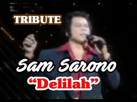 FILIPINO SAM SARONO Impersonating TOM JONES singing DELILAH
