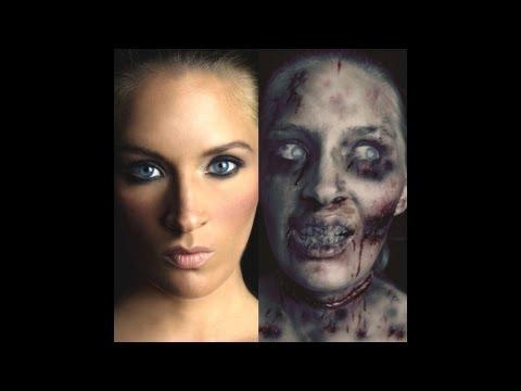 Margaret Kimura Makeup Tutorial - Zombie