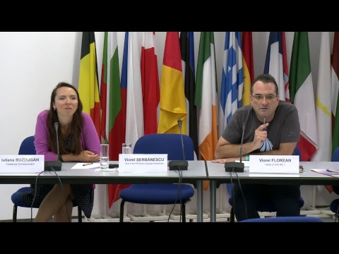 Information workshop with webcast for the contractors translating into Romanian