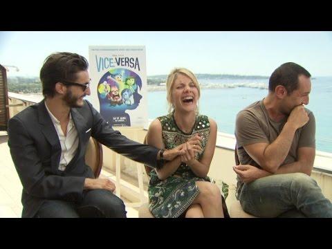 'Vice versa': le fou-rire de Mélanie Laurent, Pierre Niney et Gilles Lellouche