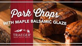 Easy Pork Chops With A Maple Balsamic Glaze