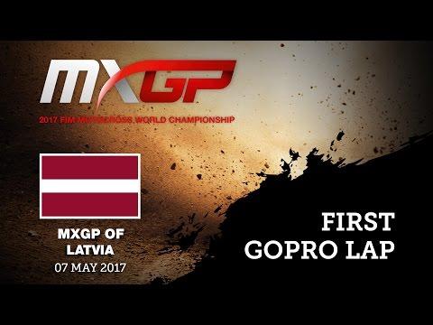 First GoPro Lap with Pauls JONASS_MXGP of LATVIA, Kegums 2017   Motocross