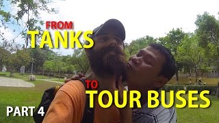 Backpacking Vietnam Part 4: From Tanks to Tour Buses in Hue