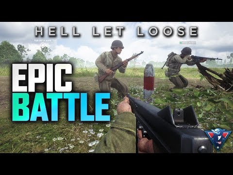 AN EPIC BATTLE! | Hell Let Loose Gameplay