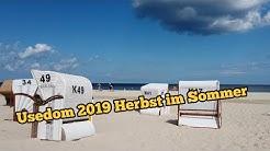 Usedom 2019 Herbsturlaub mitten im Sommer #Usedom #Ahlbeck